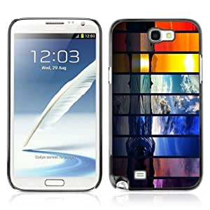 Designer Depo Hard Protection Case for Samsung Galaxy Note 2 N7100 / Different Seasons