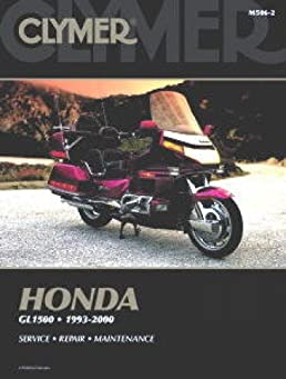 m506 2 1993 2000 honda gl1500 goldwing clymer motorcycle repair rh amazon com