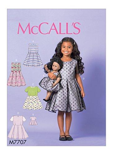 McCall's Patterns M7707CL0 Children/Girls 18