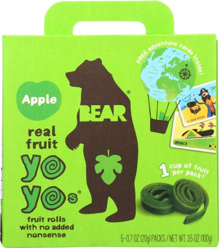 Bear Yoyo Fruit Roll Apple Mltipk 3.5 OZ (Pack of 12)
