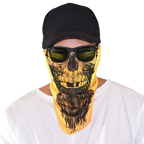 Price comparison product image Maskies by Santa Playa,  Breathable Face Masks for Biking,  Hiking :: Rapp Scullywag (Yellow)