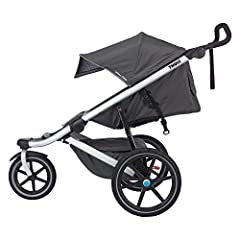 The Thule Urban Glide is an all-around sports stroller with a sleek and lightweight design making it perfect for urban mobility or jogging on your favorite path. The Urban Glide has a adjustable and ergonomic handlebar which allows a large ra...
