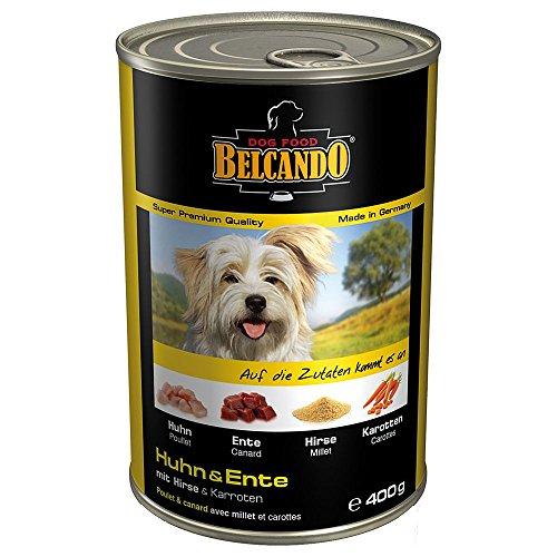 Belcando Pollo & Pato con Mijo y Zanahoria comida húmeda para perros