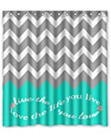 Infinity Live The Life You Love Love The Life You Live Chevron Pattern  Turquoise GreyAmazon com  Love Infinity Forever Love Symbol Chevron Pattern pink  . Turquoise Chevron Shower Curtain. Home Design Ideas