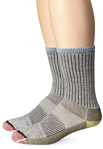 Woolrich Men's Ten Mile Hiker Crew Sock 2-Pack, Scout, Size:10-13/Shoe Size: 6-12