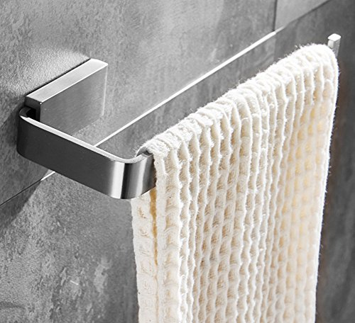 ELLOu0026ALLO Hand Towel Bar Holder Stainless Steel Bathroom Accessories Towel  Ring Wall Mounted Brushed Nickel