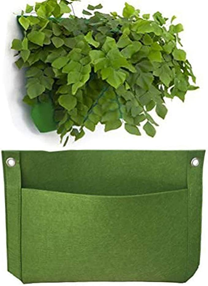 Details about  /18 Pockets Planter Vertical Garden Wall Plants Hanging Bag for Herb Pot Tools RN