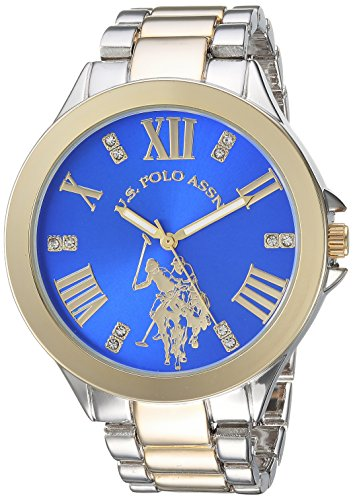 U.S. Polo Assn. Womens Quartz Metal and Alloy Watch, Color:Silver-Toned (Model: USC40227)