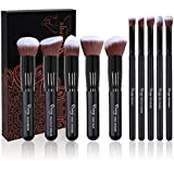 Makeup Brushes, Qivange 10pcs Eyeshadow...