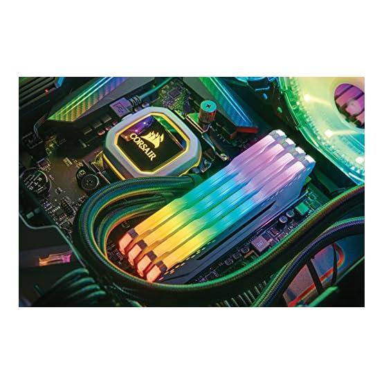 Corsair Vengeance RGB PRO 16GB (2x8GB) DDR4 3000MHz C15 LED Desktop Memory, White 51qZ5ezgjgL. SS555