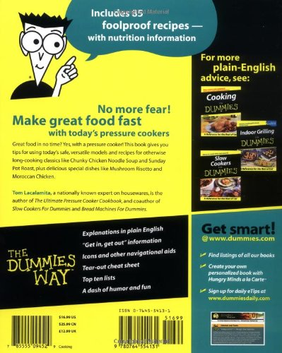 Pressure Cookers For Dummies?
