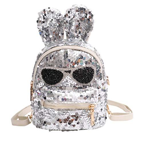 Clearance Sale,Realdo Fashion Girls Sequins Shoulder Bag Student Bling School Travel Backpacks Daypack from Realdo