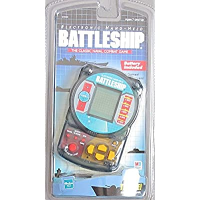 BATTLESHIP Electronic HAND HELD GAME Handheld Classic NAVAL COMBAT w 3 GAMES & SOUND Effects (1999 Hasbro): Toys & Games