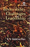 img - for Invincibility, Challenges and Leadership book / textbook / text book
