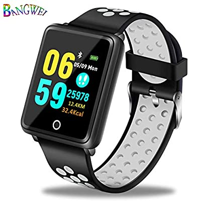 QQFTCM Sports Smart Bracelet Fitness Wristband Blood Pressure Heart Rate Monitor Pedometer Watch relojes para mujer Estimated Price £90.00 -