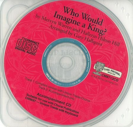 Who Would Imagine a King?: Accompaniment CD (King Accompaniment Cd)