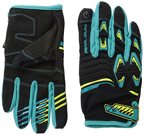 Izumi Pearl Gloves Spandex (Pearl Izumi - Ride Men's Launch Gloves, Black/Viridian Green, X-Large)