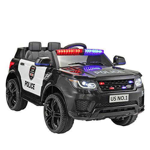 Why Should You Buy 2-Seater Police Ride On Toy 12V Battery Power Electric Ride-on SUV 3 Speeds Siren...
