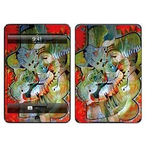 Diabloskinz B0104-0004-0016 Art-Oil Painting - Protector de pantalla para Apple iPad Air, diseño de cactus, color rojo
