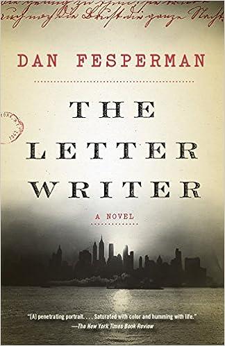 The Letter Writer A Novel 9781101873991 Dan