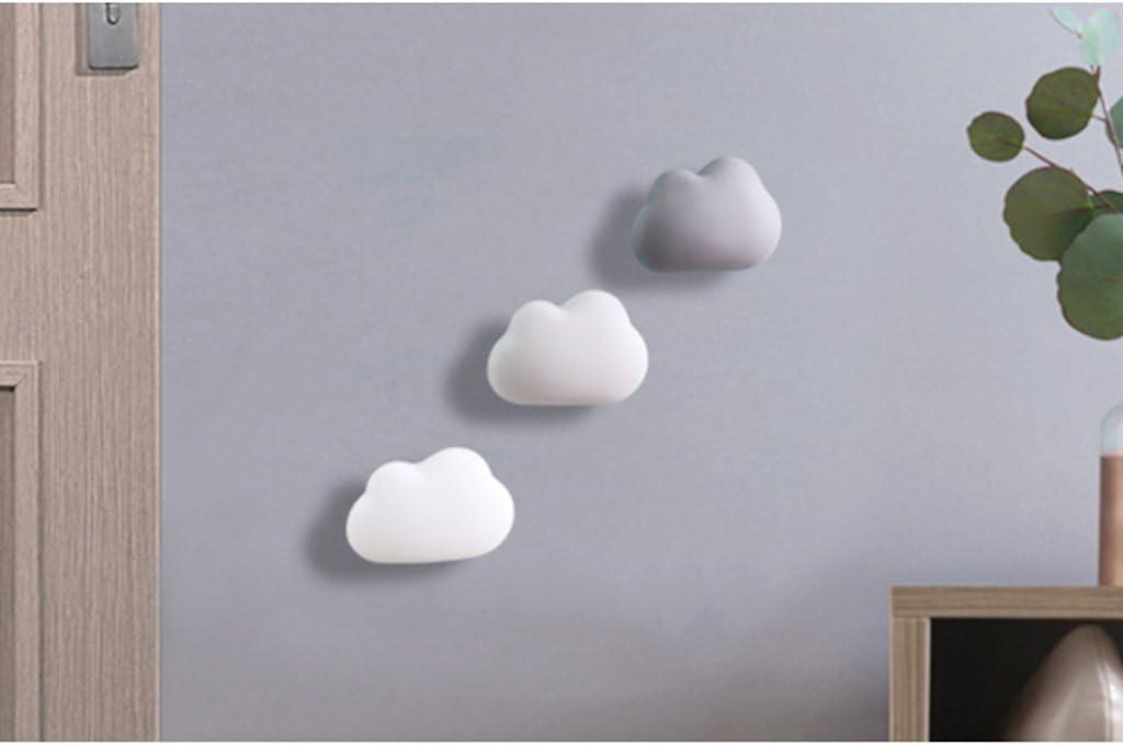 Light Grey Cute Cloud Shaped Refrigerator Fridge Deodorizer Smell Odor Absorber Desiccant Dehumidifier