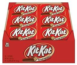 KIT KAT Bars (Milk Chocolate, 1.5-Ounce Bars, Pack of 36)