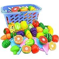 FairOnly 6 Unid/Set Plástico Cocina Alimentos Fruta Vegetal Juguetes de Corte Cocinar Cosplay Seguridad Educativa Niños Juguetes de Cocina para Niños P20