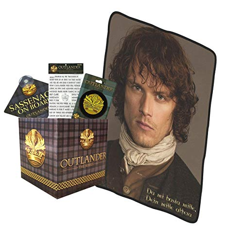 (Outlander LookSee Collectibles Box |Includes Fridge Magnets |Car Sign | Embroidered Patch | Throw)