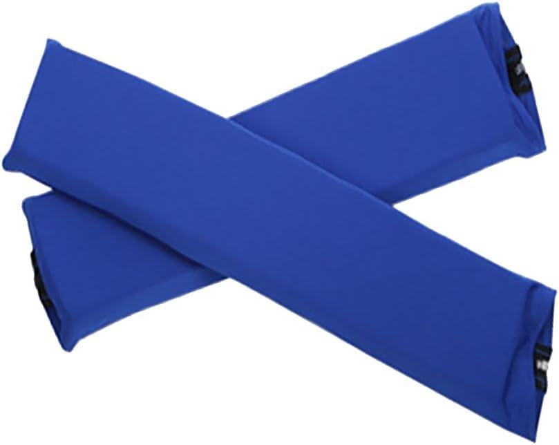 joyMerit 1 Par De Fundas para Reposabrazos De Silla De Oficina Funda De Reposabrazos para Silla De Computadora con Cremallera - Azul Marino, Individual