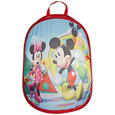 Playhut Pop N Play Laundry Tote - Mickey Mouse: Toys & Games