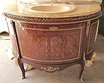 Waschtisch antik küche  Barock Waschtisch Antik Stil Kommode Marmor Barock Antik Stil ...