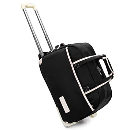 f80cbeaf9965 Ultralight Travel Carrying Tote - Cabin Trolley Wheeled Travel ...