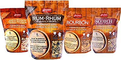MacLean's Outdoor Liquor Barrel Barbecue BBQ Smoking Chips from MacLean's Outdoor