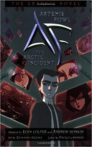 Artemis Fowl The Arctic Incident Graphic Novel Artemis Fowl