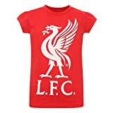 LFC Girls Red Liverbird Tee