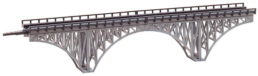 Faller 282915 Deck Arch Bridge XL Z Scale Building Kit, 8-5/8''