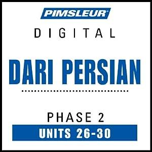 Dari Persian Phase 2, Unit 26-30 Audiobook