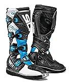 Sidi X-3 Ta Off Road Motorcycle Boots White/light Blue/black Us10/eu44 (more Size Options)   amazon.com