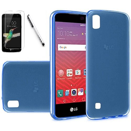 on sale 8ce6b b91bd Amazon.com: LG Volt 3 / LS755 Case, Luckiefind Frosted Matte TPU ...