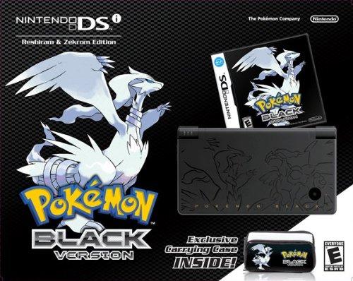 Pokemon Black Version Bundle - Nintendo DSi (Pokemon Black And Game White Ds)