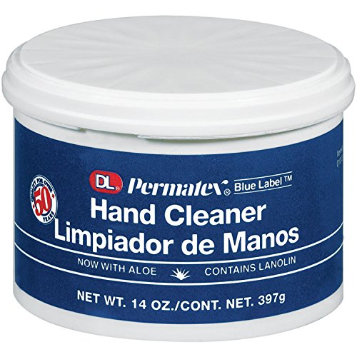 - Permatex 01013 DL Blue Label Cream Hand Cleaner, 14 oz.
