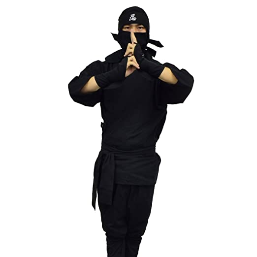 Amazon.com: Ninja Uniform & Martial Art Costume, Karate Suit ...
