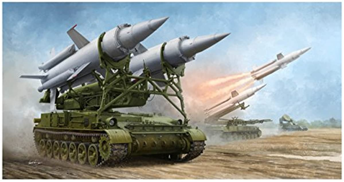 [해외] 호랑이펫퍼터 1/35 소비에트군 2K11A 대공 미사일 시스템 크루구 프라모델  09523