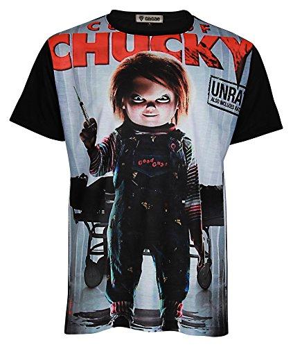 Topcloset Chucky Doll Halloween Killer Movie Men Unisex