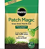 Miracle-Gro Patch Magic Grass Seed, Feed And Coir, 3.6kg Bag