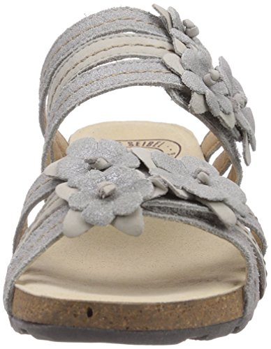 check out b29f5 50f62 Josef Seibel Andrea 07 Damen Sandalen Grau 728 125 ash/grey ...