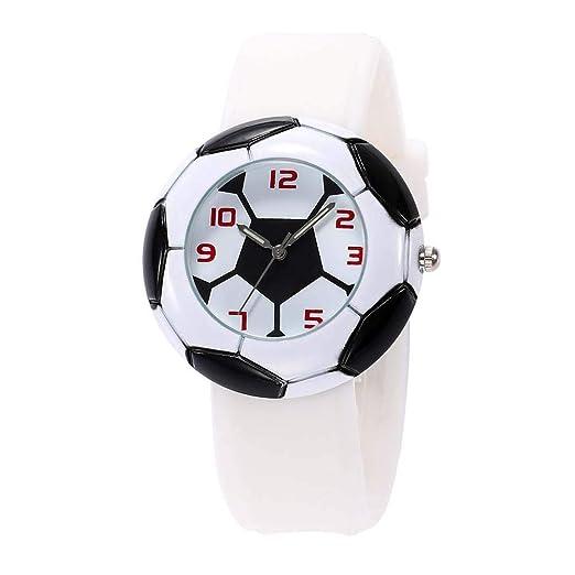 Los niños Hermosos Relojes Watch World Cup Football Men s Watch: Amazon.es: Relojes