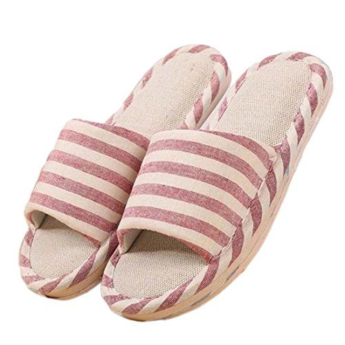 Pantofole Da Donna Vendita Venerdì Nero Pantofole Unisex Comfort Biancheria Antiscivolo Scarpe Da Interno Piatte Per Uomo Donna Pantofole Casa Accogliente Rosso (us Taglia 7-8)