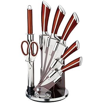 Amazon Com Skandia Forte 13 Piece Knife Block Set Home