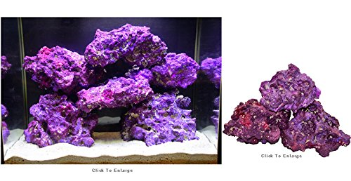 World Wide Imports Natures Rock Purple Base Rock, 40 lb